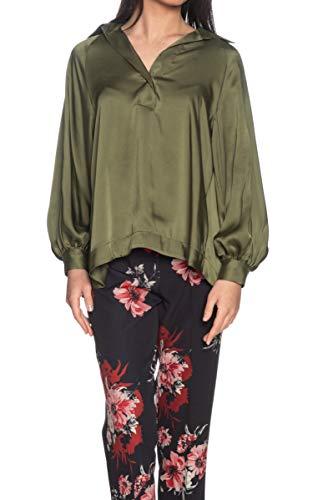 Please Bluse für Damen, Militärgrün Grün militär-grün Small