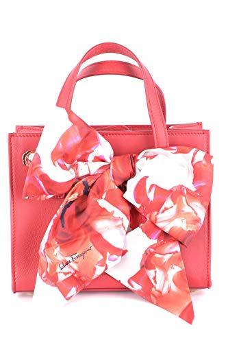 Salvatore Ferragamo bolso de mano para compras en piel mujer nuevo tote foulard
