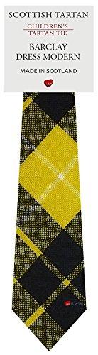 I Luv Ltd Garçon Tout Cravate en Laine Tissé et Fabriqué en Ecosse à Barclay Dress Modern Tartan