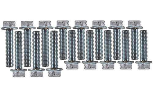 ICT Billet INTAKE MANIFOLD FLANGE BOLT KIT COMPATIBLE WITH BIG BLOCK FORD BBF 429 460 HEX HEAD 551688