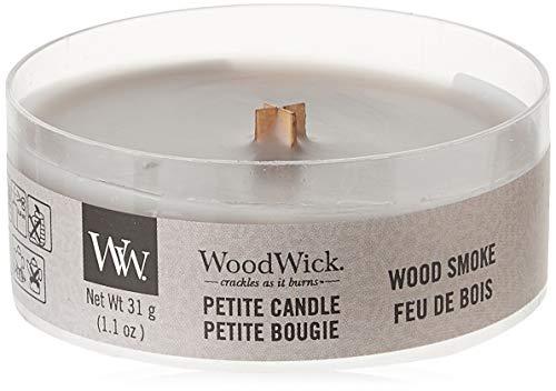 Woodwick Wood Smoke Petite Candle