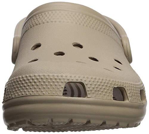 Crocs Unisex Adult Classic Clogs, Cobblestone, 12 UK