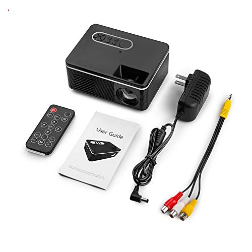 household items Mini proyector casero, Mini proyector LED...