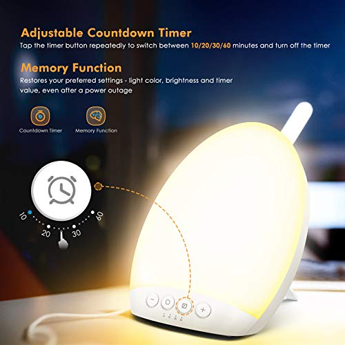 Hosome 10,000 Lux Portable SAD Light Therapy Lamp