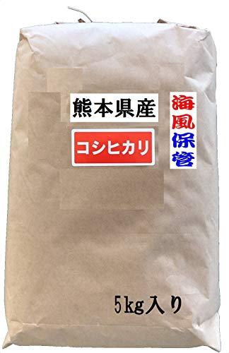 玄米 熊本阿蘇産 コシヒカリ 1等米 30kg 海風保管