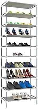 ferren Hot New 10 Tiers Easy Assembled Shoe Rack