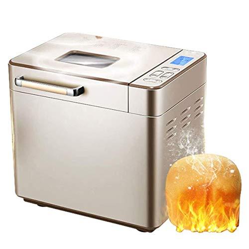 WLMGWRXB automática programable de la máquina del pan, casa DIY de la máquina del pan, pasta automática amasadora inteligente multifuncional Pane Roaster 25 Menu / 13H Timing