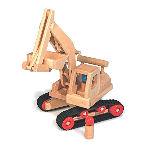 Fagus 10.71 Holz Spielzeugfahrzeug - Spielzeugfahrzeuge (Holz, Schwarz, Holz, Kinder, 170 mm, 460 mm, 410 mm)