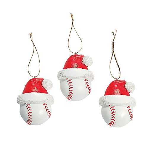 Baseball Christmas Ornaments 1
