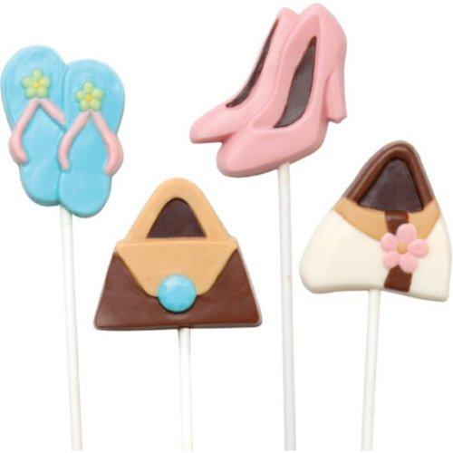Make N' Mold 0276 Dress My Cupcake Purse and Shoe Pop Candy Mold