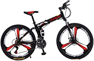 MIEMIE Girls & Boys Kids Freestyle Bicycle Outroad Mountain Bike for Adult Teens, 24-26 Inch Bike Mo...