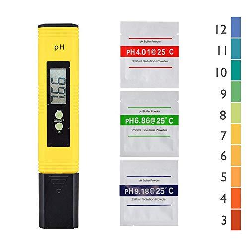 petit un compact Nynel Professional Ph Tester, fonction d'étalonnage automatique et plage 0,00-14,00…