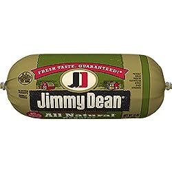 Jimmy Dean Premium All-Natural Pork Sausage Roll, 16 oz.