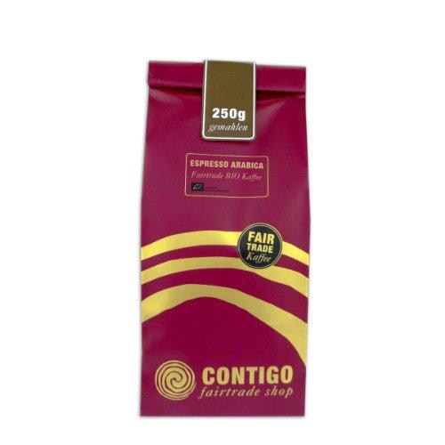 Contigo Espresso Arabica Bio gemahlen 500g