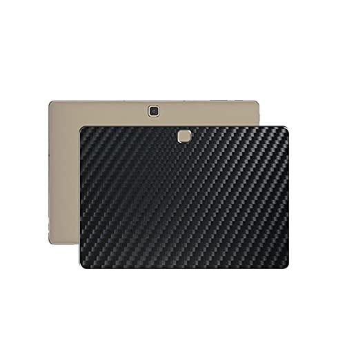 VacFun 2 Piezas Protector de pantalla Posterior, compatible con Samsung Galaxy Tab Pro S 12', Película de Trasera de Fibra de carbono negra Skin Piel