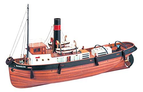 Artesanía Latina 20415. Maqueta de Barco en Madera Remolcador Sanson 1/50