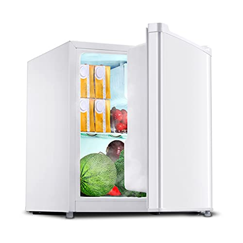 SMETA 1.6 Cubic Feet Compact Refrigerator with Freezer Small Dorm Fridge for Bedroom, Office, White