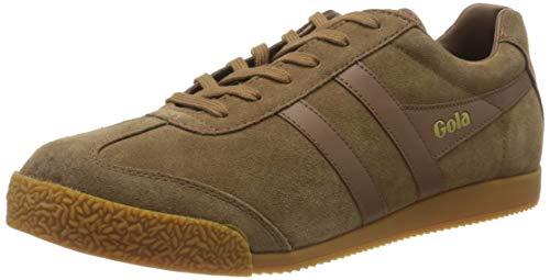 Gola Herren Harrier Sneaker, Tabak Tabak Gum, 42 2/3 EU