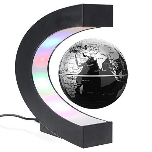 Globo Levitazione Magnetica C Forma di Sfera con LED Galleggiante Globe Idee Regalo per l'Insegnare e Decorazione della Ufficio Casa