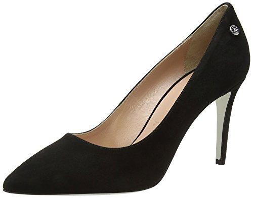 Pollini Damen W.Shoe Pumps, Schwarz (Nero 000), 39 EU