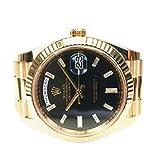 Rolex Day-Date 40mm 18K Amarillo Oro Champagne Dial Presidente Reloj 228238