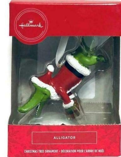 Hallmark Christmas Ornament, Alligator