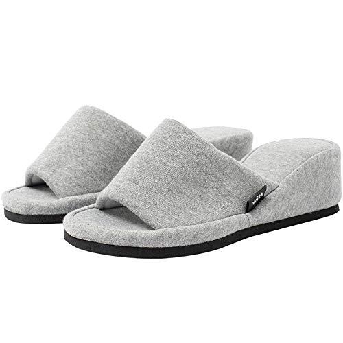 B/H zapatillasdemasajemujer,Zapatillas de Masaje para Interiores, Sandalias Antideslizantes para el hogar-Pink_40-82,UnisexSandaliasdemasaje,