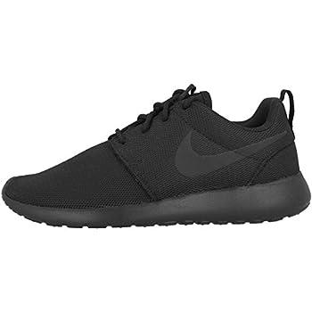 Nike Womens Roshe One running shoe Black/Black/Dark Grey 8.5