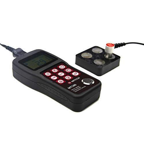 ZJN-JN Multi travers la peinture à ultrasons Jauge d'épaisseur (3-30) mm MT180 NDT Industrie mètre portatif jauge d'épaisseur à ultrasons numérique Indicateurs de mesure