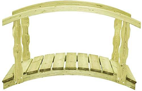 Feuchtigkeitsdichte Gartenbrücke 170x74x105 cm,Green