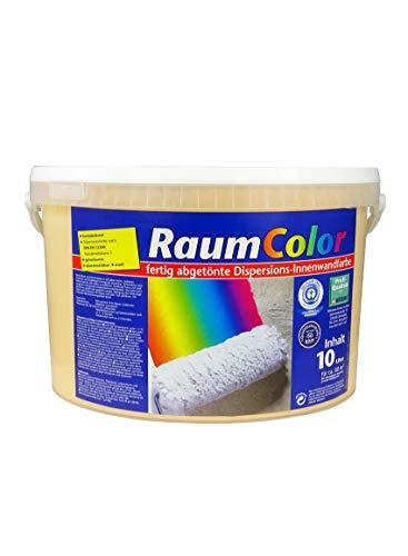 Raumcolor getönt Papaya 10 Liter ca. 60 m² Innenfarbe Wandfarbe Wilckens Trendfarbe hochdeckend