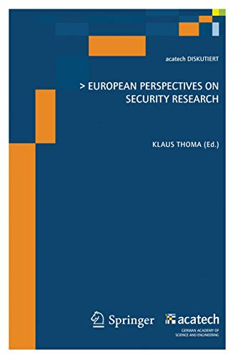 European Perspectives on Security Research (acatech DISKUTIERT)