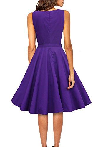 'Audrey' Vintage Clarity Kleid im 50er-Jahre-Stil - 2