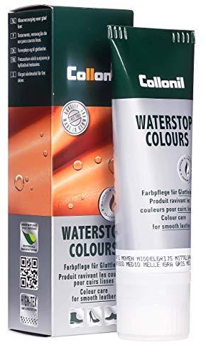 Collonil Waterstop Classic, Betún Para Calzado, Gris (mittelgrau), 75 ml