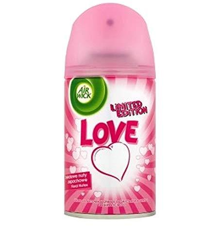 Airwick Navulling Love Floral Notes voor Freshmatic Max - verpakking van 6 (6 x 250 ml)