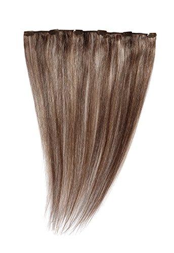 American Dream - A1/QFC12/18/30/33 - 100 % Cheveux Naturels - Barrette Unique Extensions à Clipper - Couleur 30/33 - Topaze / Cuivre Riche - 46 cm