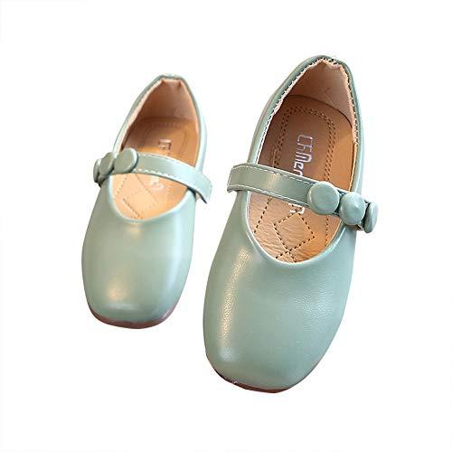 N/P Joeupin Zapatos planos Mary Jane para niñas sin cordones en la...