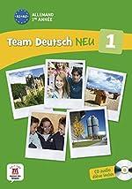 Allemand 1re année A1-A2 - Livre de l'élève (1CD audio) d'Ursula Esterl
