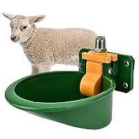 自動飲用カップ、360度研磨されたプラスチック製の落下防止豚用水入れ、羊用の噛み付き防止