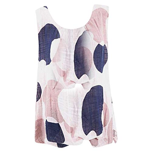 Sleeveless Blouse Women Plus Size Loose Sexy Vest Summer Pastoral Atmosphere Travel Best Choice Top T-Shirt