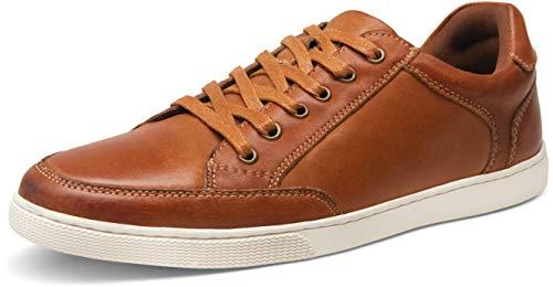 JOUSEN Men's Sneakers Classic Casual Fashion Sneakers (10.5,Brown)