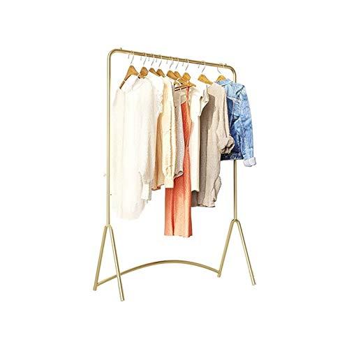 Special hangers XZGang Arte del Hierro Barra de Colgar, Simplicidad Ropa Soporte de exhibición Boutiques Abrigo Escudo Bastidores Escaparate Expositores Tienda de Ropa