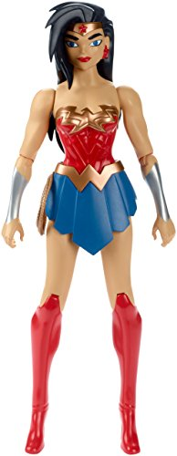 Mattel FBR04, Justice League Figura Wonder Woman, 30 cm , color/modelo surtido