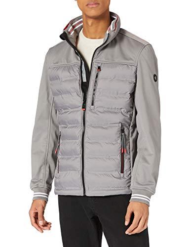 TOM TAILOR Herren 1024070 Hybrid Jacke, 10944-Frost Ash, L