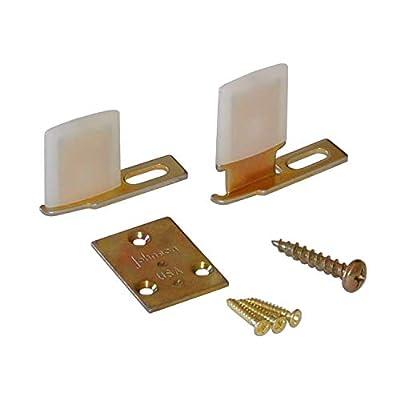 Johnson Hardware 2041PLBG Hidden Pocket Door Guide