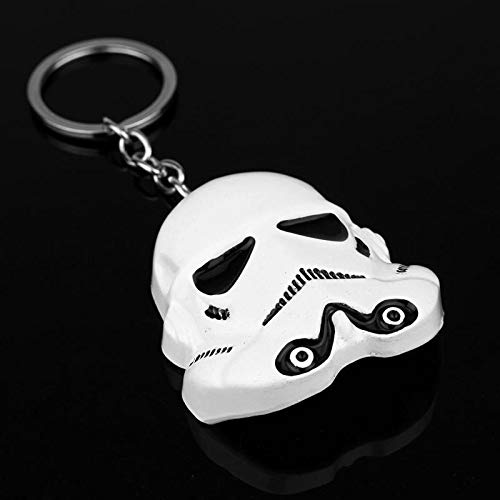MINTUAN Schlüsselbund Schlüsselring Star Wars Keychain Stormtrooper Helm Storm Trooper Anhänger Schlüsselanhänger Darth Vader Mask Keyring