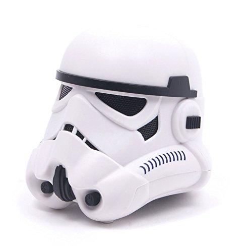 BlueSky Star Wars Death Star Altavoz Bluetooth con Sonido Reactivo Estrella de la Muerte - Death Star