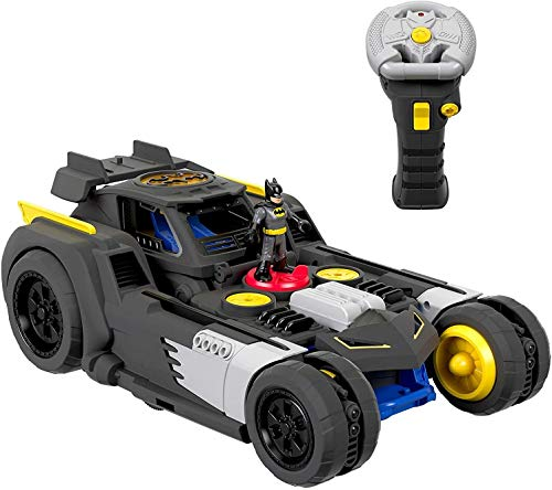 Fisher-Price GBK77 Imaginext DC Super Friends Transforming Batmobile R/C Fahrzeug, Mehrfarbig