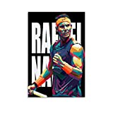 ASFASF Poster mit Tennisspieler Rafael Nadal Rafa Star 5,
