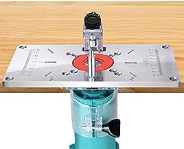 Riiai Router Tafel Insert Plaat Aluminium Houtbewerking Trimmen Machine Flip Board voor Houtbewerking Banken Trimmer